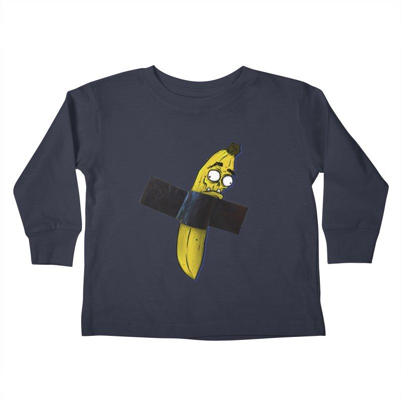 BANANA TAPE Kids Toddler Longsleeve T-Shirt by Tail Jar's Artist Shop