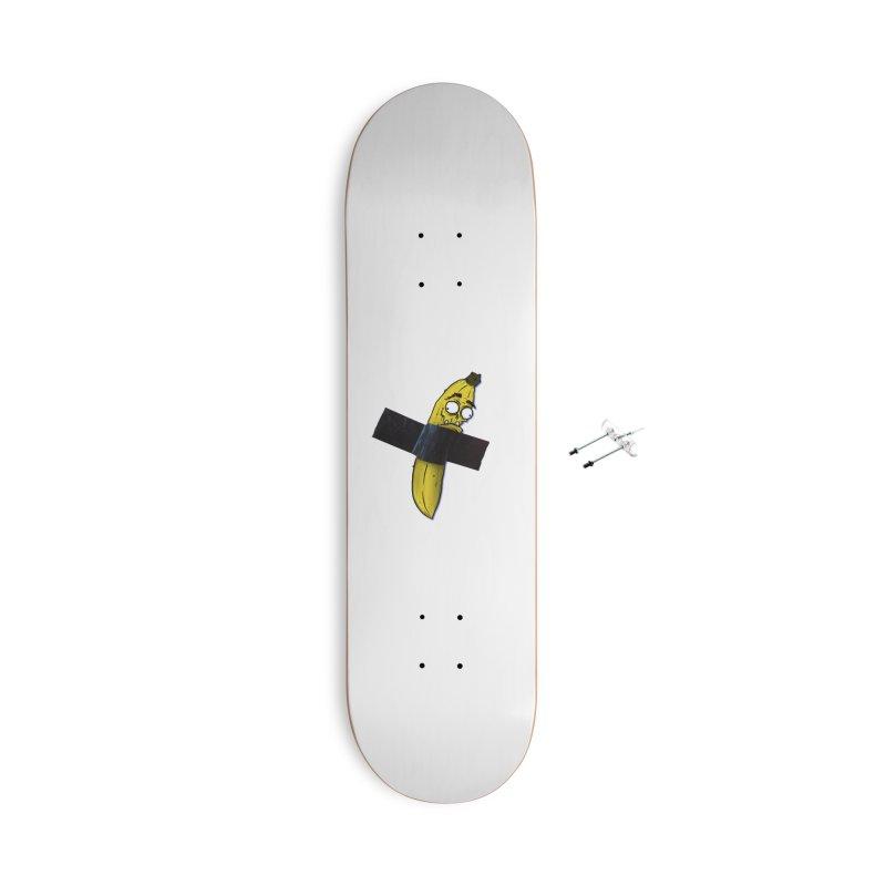 BANANA TAPE Accessories Skateboard by Tail Jar's Artist Shop