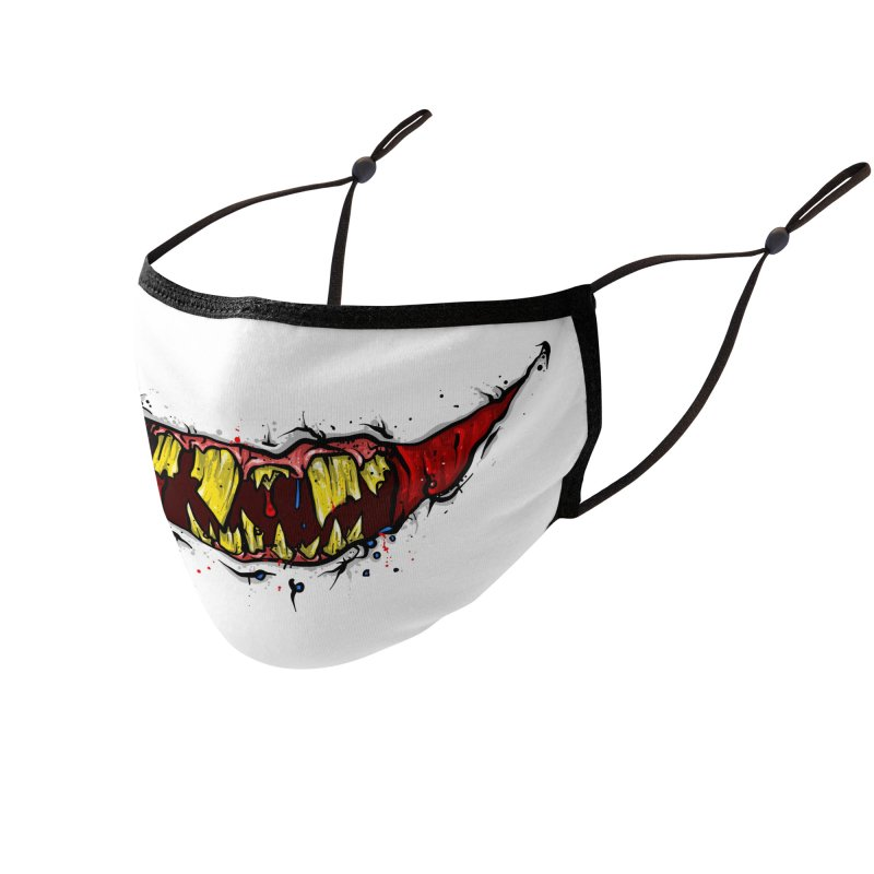 REMEMBER TO SMILE Accessories Face Mask by Tail Jar's Artist Shop