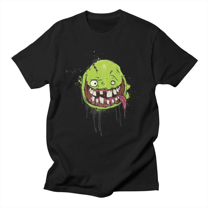Happy (Sale) in Men's T-shirt Black by Tail Jar's Artist Shop