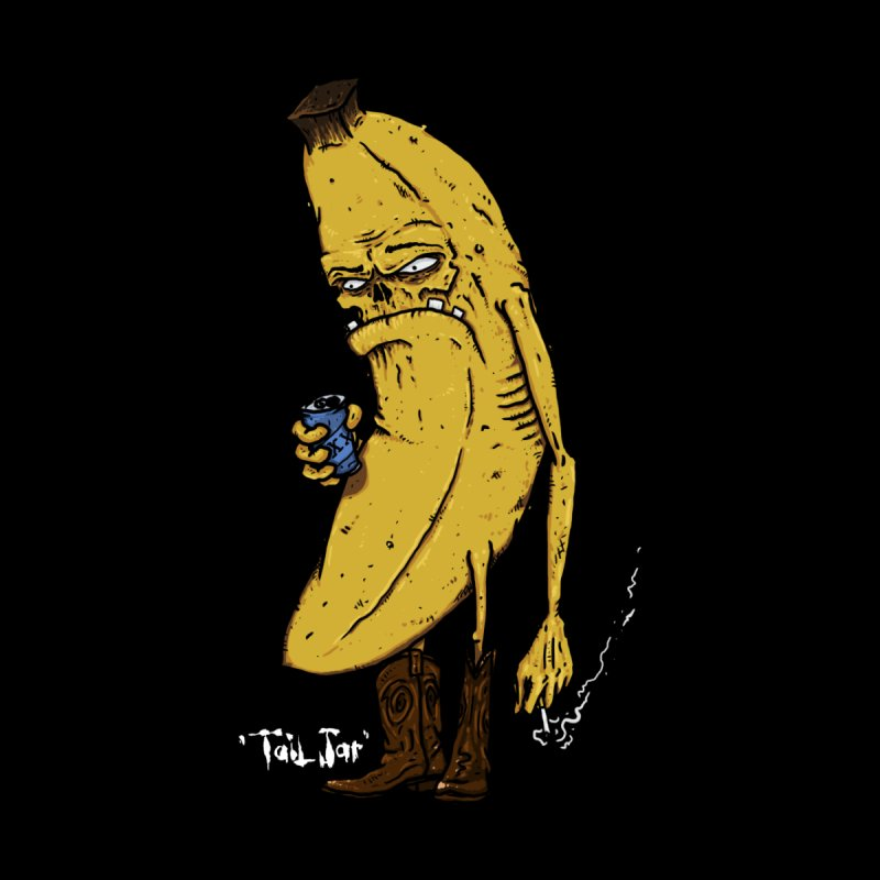 Grumpy Banana (Sale) Women's Zip-Up Hoody by Tail Jar's Artist Shop