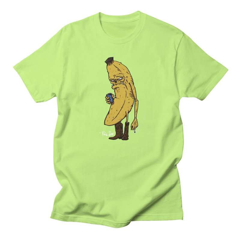 Grumpy Banana (Sale) Men's Regular T-Shirt by Tail Jar's Artist Shop