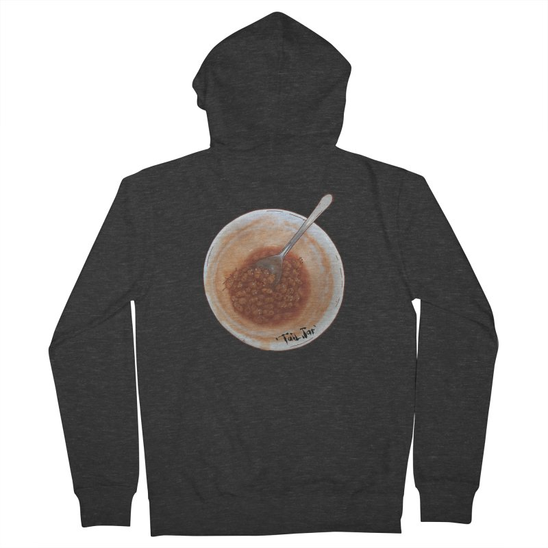 Beans (Sale) Men's French Terry Zip-Up Hoody by Tail Jar's Artist Shop