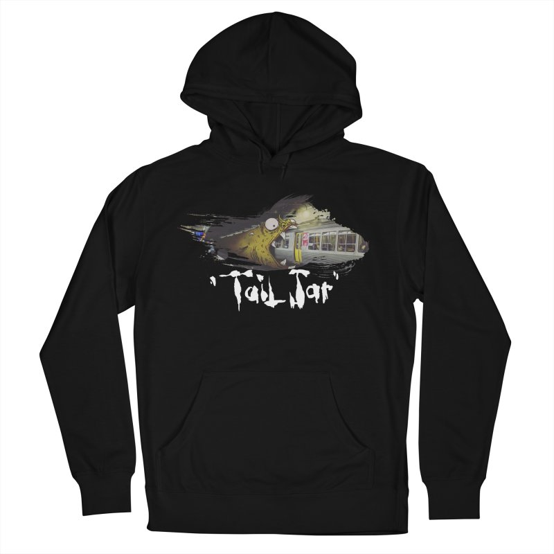 Trainglerfish (Sale) Men's French Terry Pullover Hoody by Tail Jar's Artist Shop