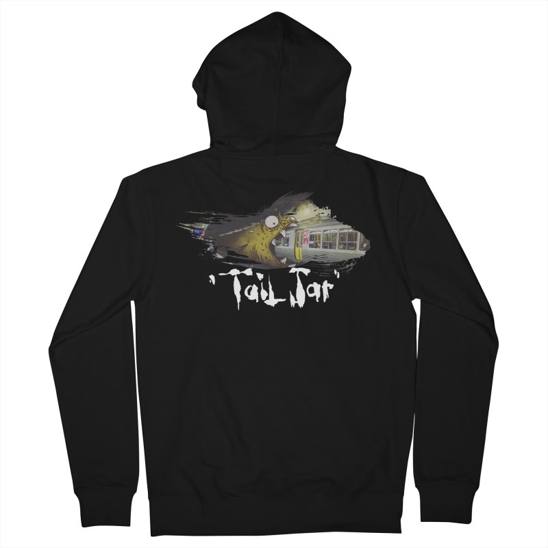Trainglerfish (Sale) Men's French Terry Zip-Up Hoody by Tail Jar's Artist Shop