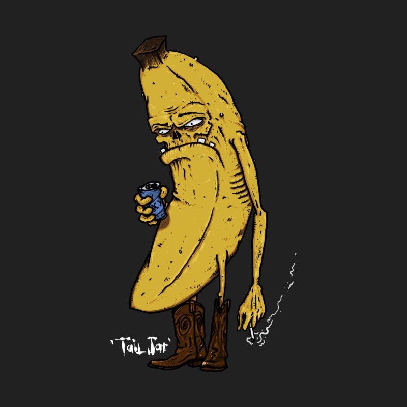 Grumpy Banana Women's V-Neck by Tail Jar's Artist Shop