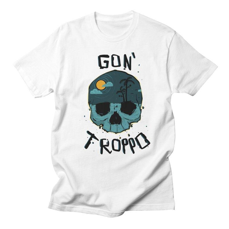 Gon Troppo in Men's T-shirt White by Tail Jar's Artist Shop