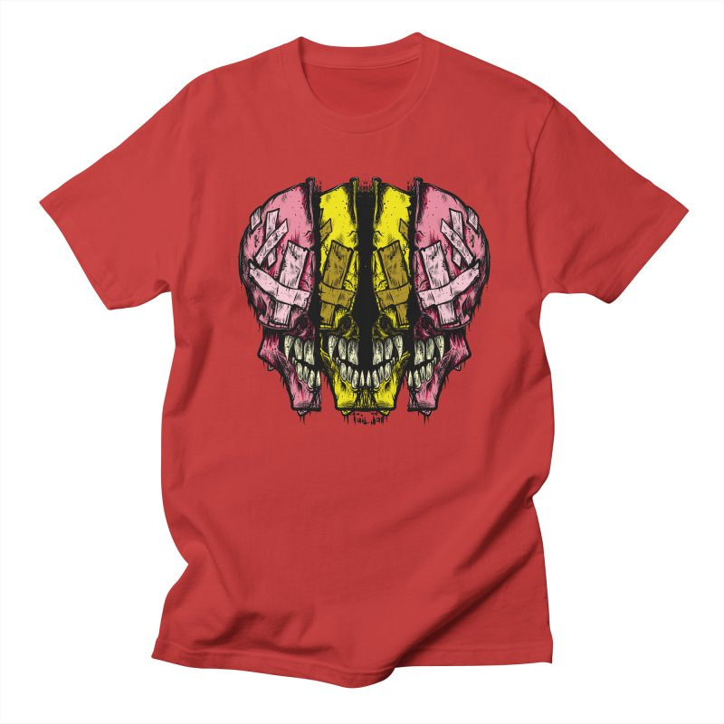 Deadead in Men's Regular T-Shirt Red by Tail Jar's Artist Shop