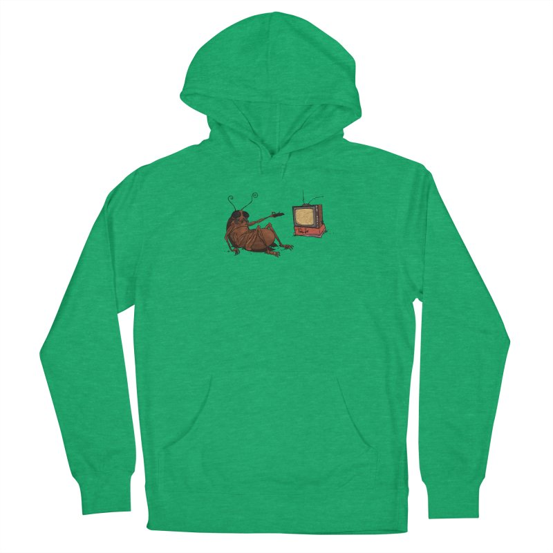 Roach Motel Women's French Terry Pullover Hoody by Tail Jar's Artist Shop