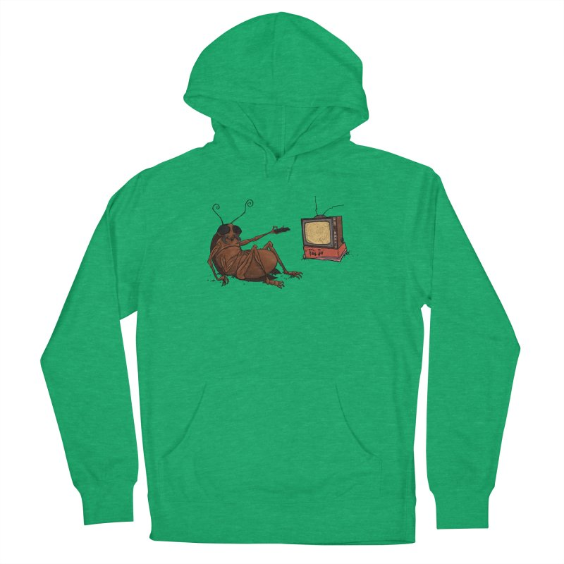 Roach Motel Men's French Terry Pullover Hoody by Tail Jar's Artist Shop