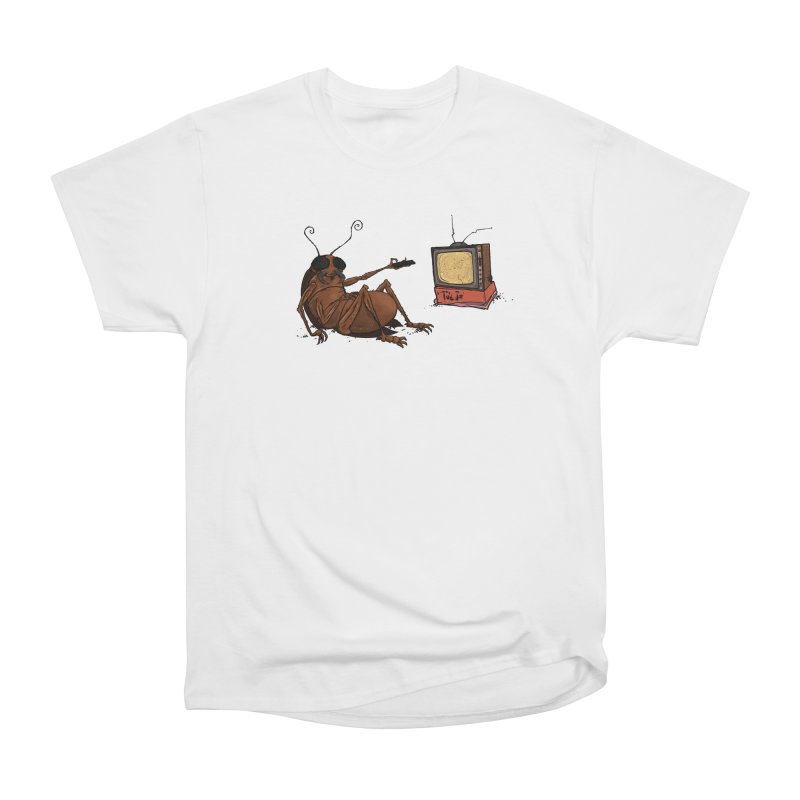 Roach Motel Men's Heavyweight T-Shirt by Tail Jar's Artist Shop