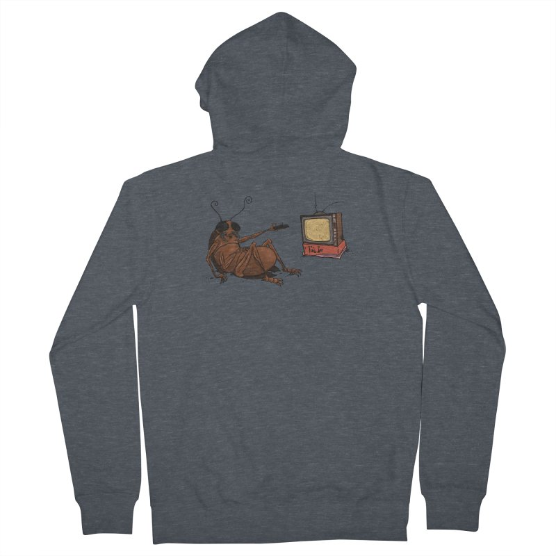 Roach Motel Women's French Terry Zip-Up Hoody by Tail Jar's Artist Shop