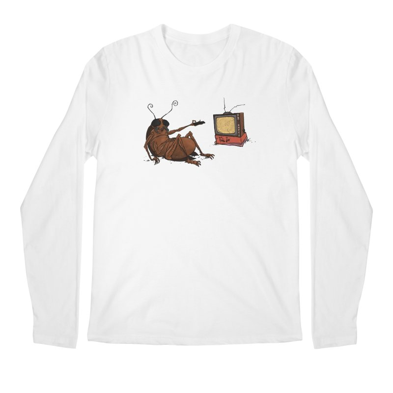 Roach Motel Men's Regular Longsleeve T-Shirt by Tail Jar's Artist Shop