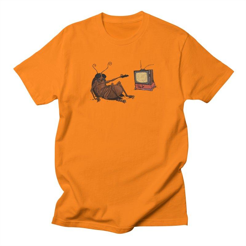 Roach Motel Men's Regular T-Shirt by Tail Jar's Artist Shop