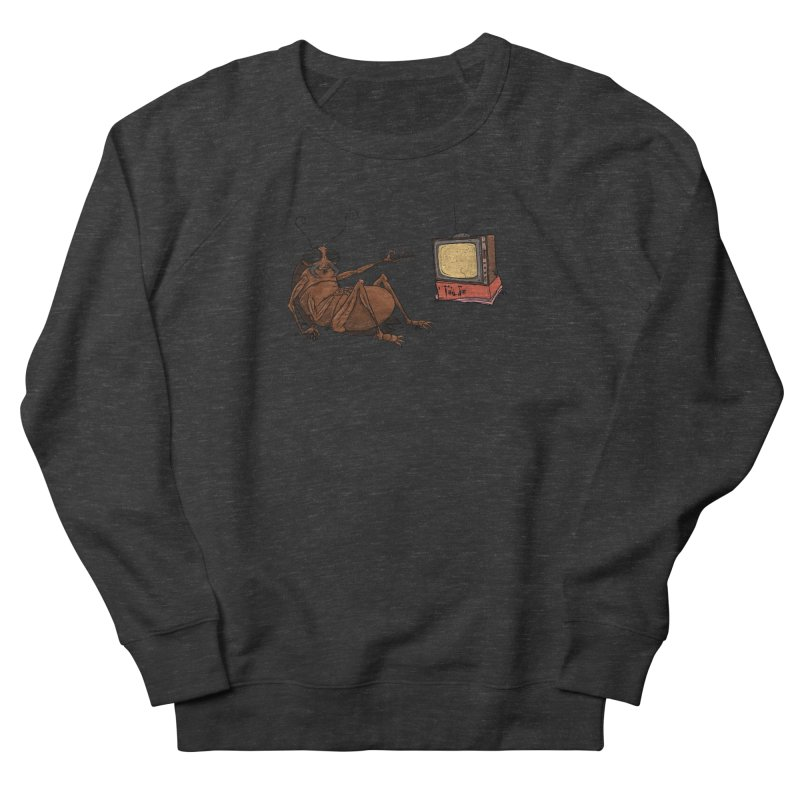 Roach Motel Women's French Terry Sweatshirt by Tail Jar's Artist Shop
