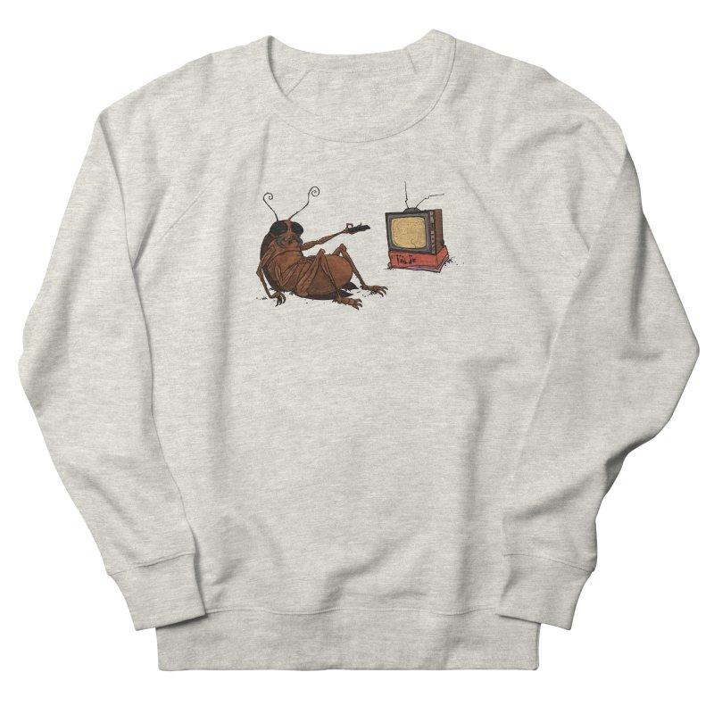 Roach Motel Women's French Terry Sweatshirt by Tail Jar's Artist Shop