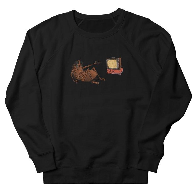 Roach Motel Men's French Terry Sweatshirt by Tail Jar's Artist Shop