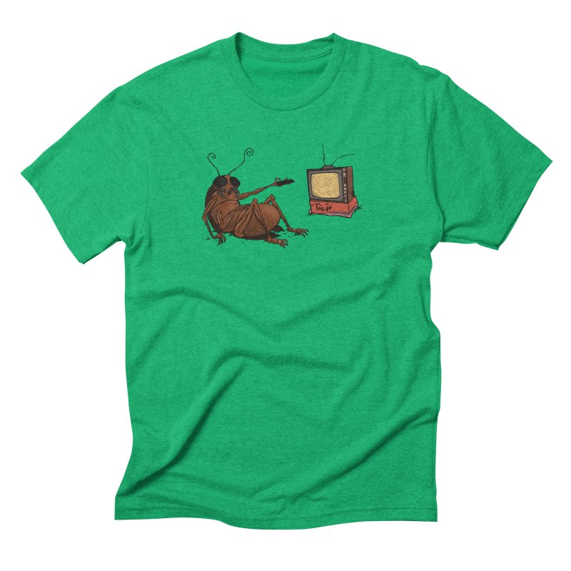 Roach Motel Men's Triblend T-Shirt by Tail Jar's Artist Shop