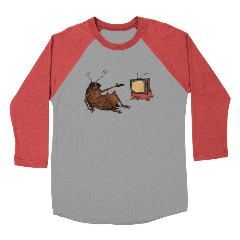 Roach Motel Women's Baseball Triblend Longsleeve T-Shirt by Tail Jar's Artist Shop