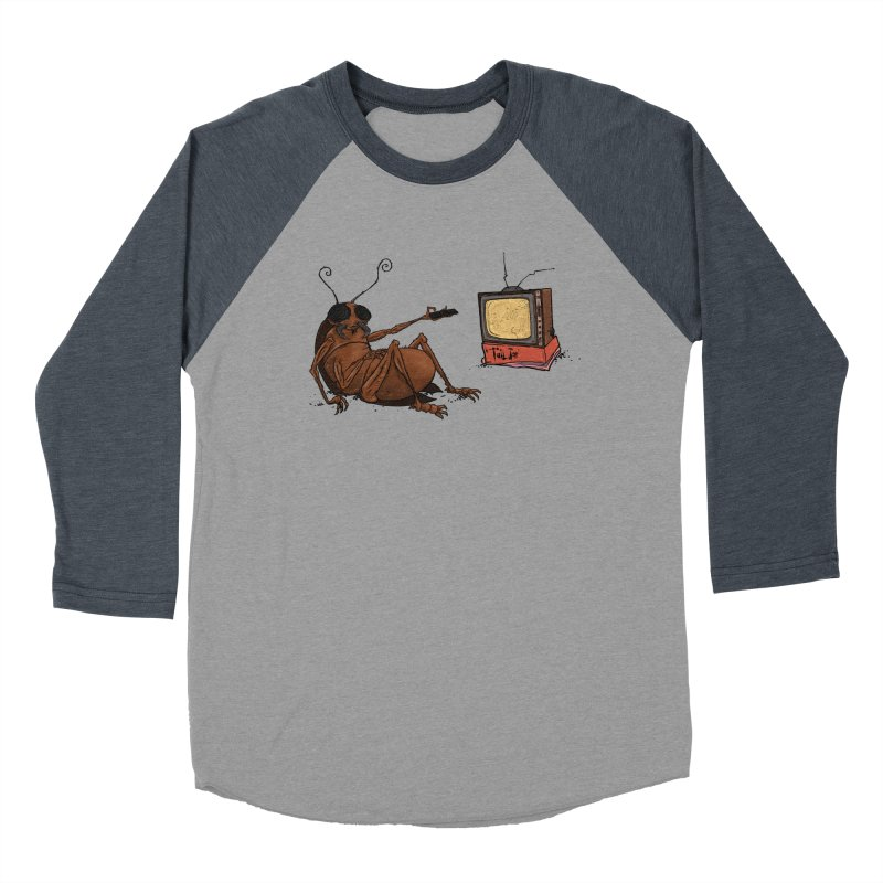 Roach Motel Men's Baseball Triblend Longsleeve T-Shirt by Tail Jar's Artist Shop