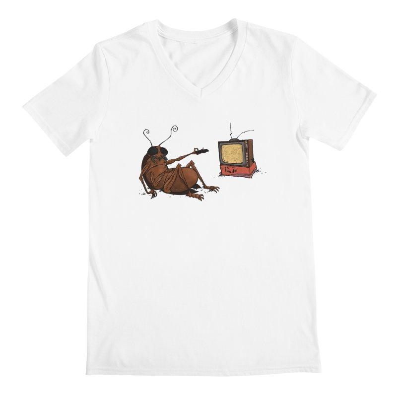 Roach Motel Men's V-Neck by Tail Jar's Artist Shop