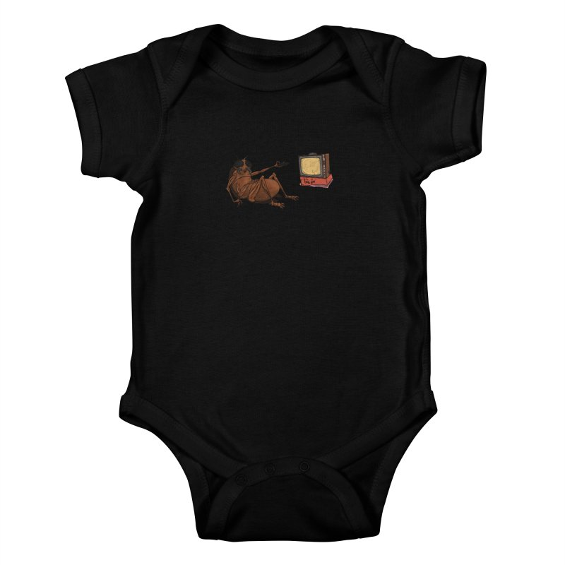 Roach Motel Kids Baby Bodysuit by Tail Jar's Artist Shop