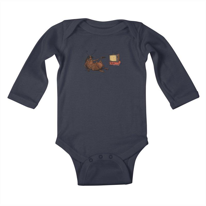 Roach Motel Kids Baby Longsleeve Bodysuit by Tail Jar's Artist Shop