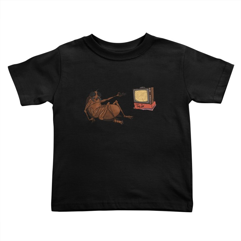 Roach Motel Kids Toddler T-Shirt by Tail Jar's Artist Shop