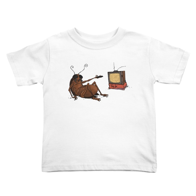 Roach Motel Kids Toddler T-Shirt by Tail Jar's Artist Shop