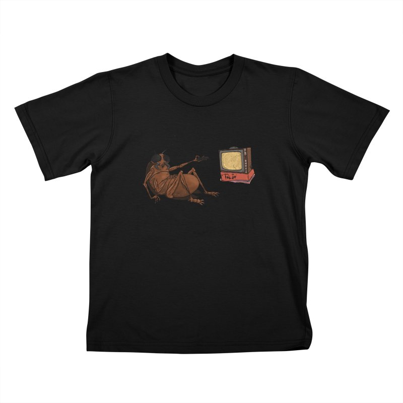 Roach Motel Kids T-Shirt by Tail Jar's Artist Shop