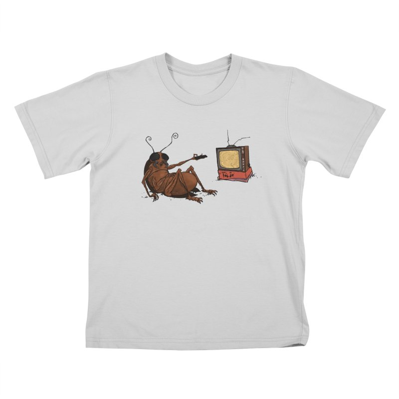 Roach Motel Kids T-Shirt by Tail Jar's Artist Shop