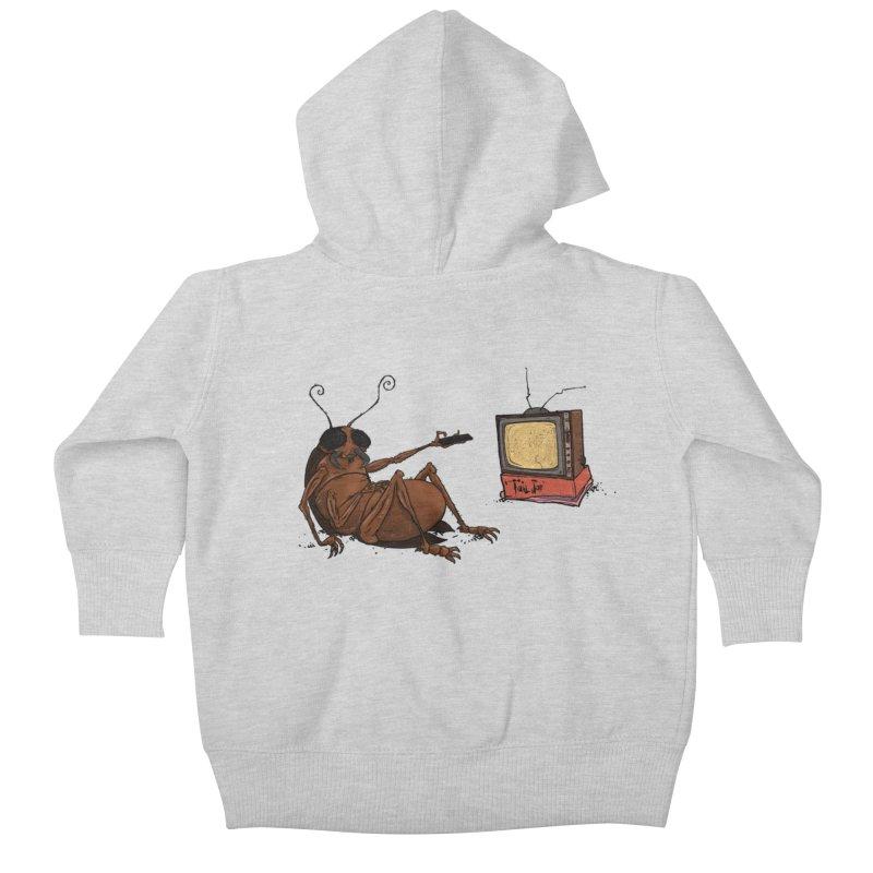 Roach Motel Kids Baby Zip-Up Hoody by Tail Jar's Artist Shop