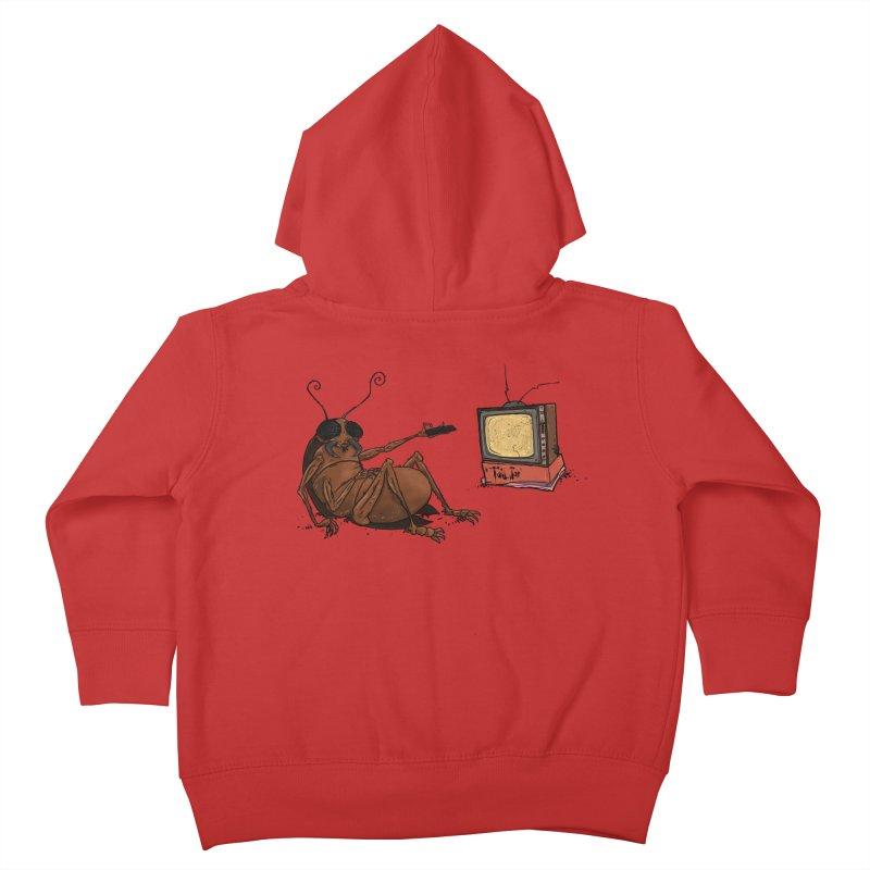 Roach Motel Kids Toddler Zip-Up Hoody by Tail Jar's Artist Shop