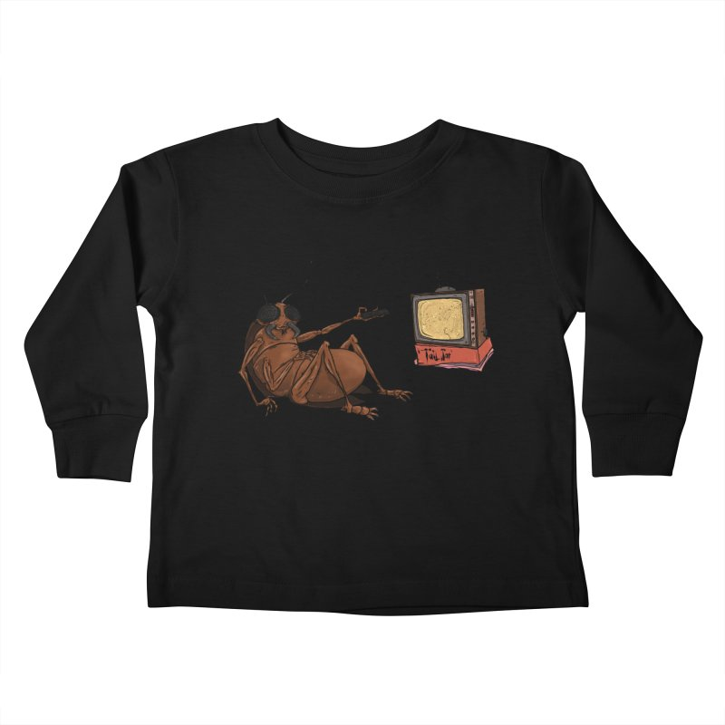 Roach Motel Kids Toddler Longsleeve T-Shirt by Tail Jar's Artist Shop
