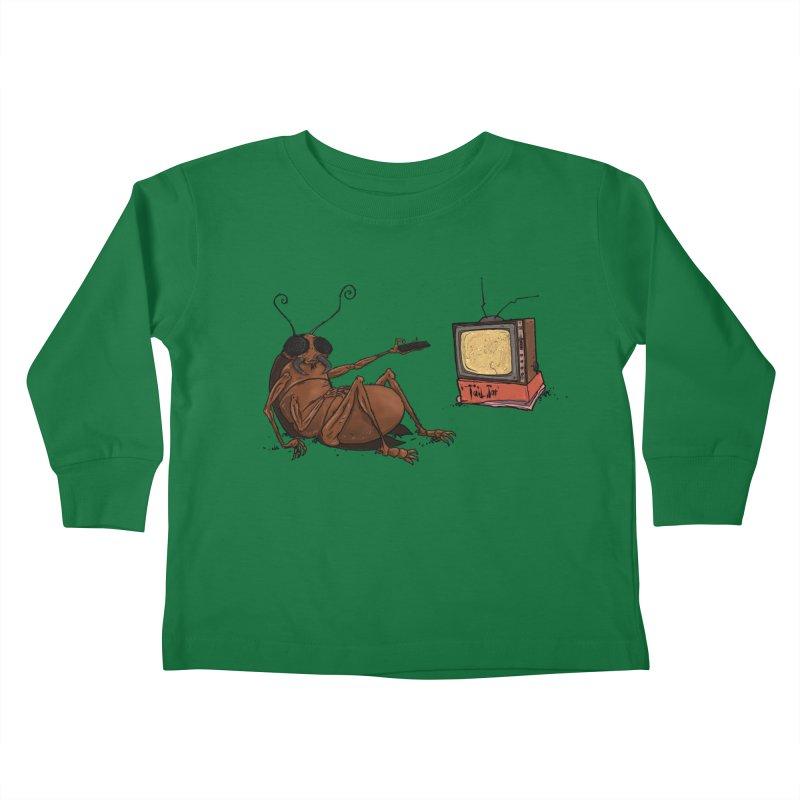 Roach Motel Kids Toddler Longsleeve T-Shirt by Tail Jar's Artist Shop