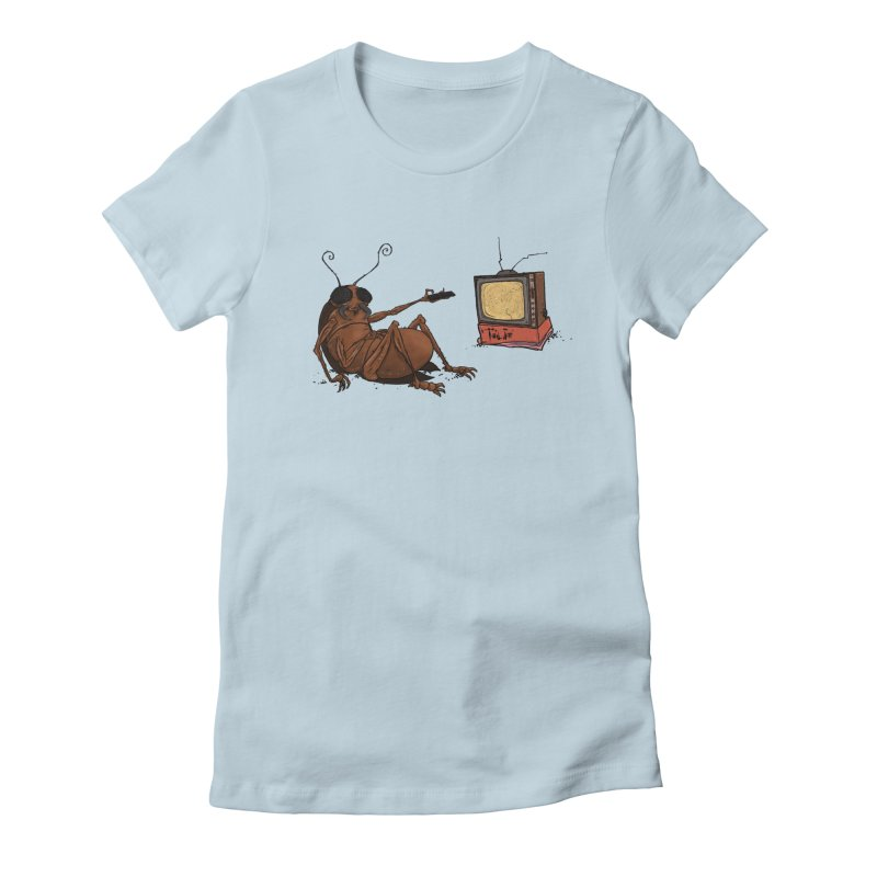 Roach Motel Women's Fitted T-Shirt by Tail Jar's Artist Shop