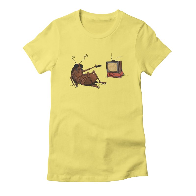 Roach Motel Women's Fitted T-Shirt by Tail Jar's Artist Shop