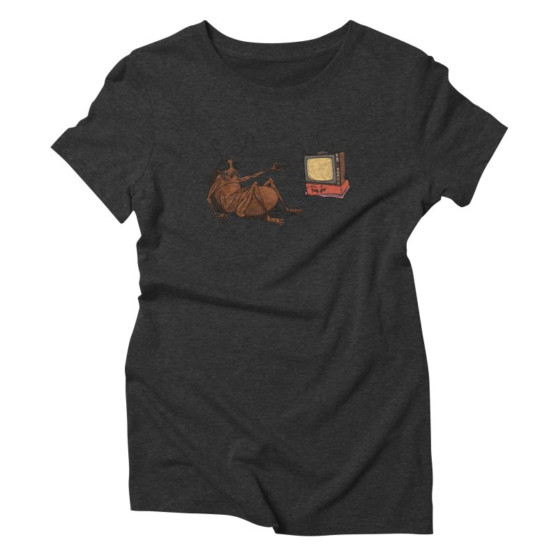 Roach Motel Women's Triblend T-Shirt by Tail Jar's Artist Shop