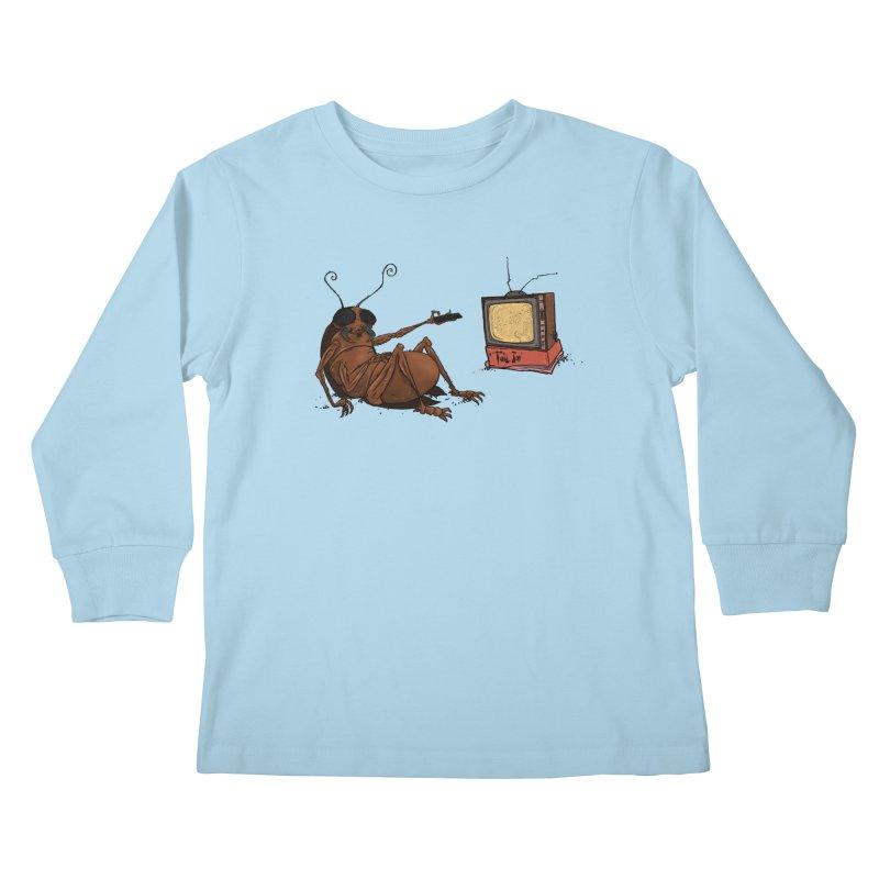 Roach Motel Kids Longsleeve T-Shirt by Tail Jar's Artist Shop