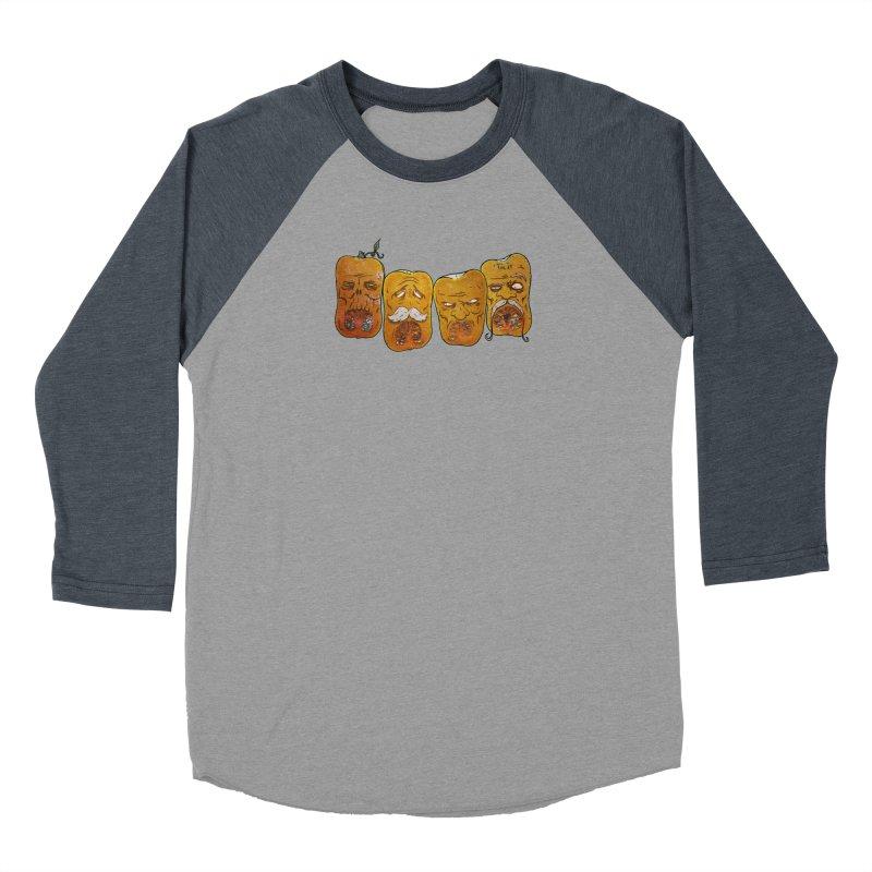 Country Pumpkins Women's Baseball Triblend Longsleeve T-Shirt by Tail Jar's Artist Shop