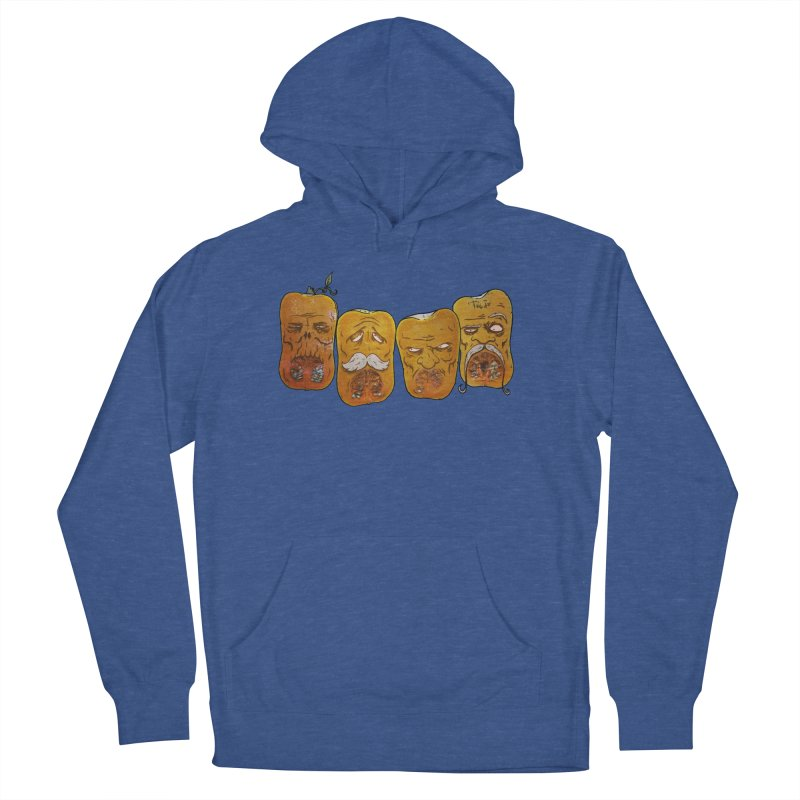 Country Pumpkins Men's French Terry Pullover Hoody by Tail Jar's Artist Shop