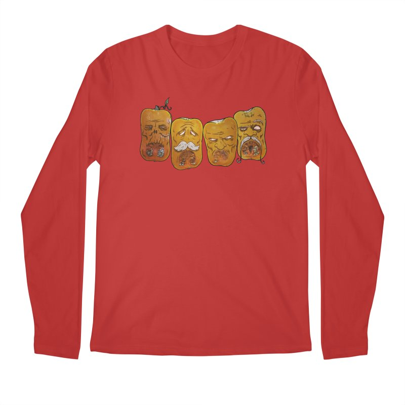 Country Pumpkins Men's Regular Longsleeve T-Shirt by Tail Jar's Artist Shop