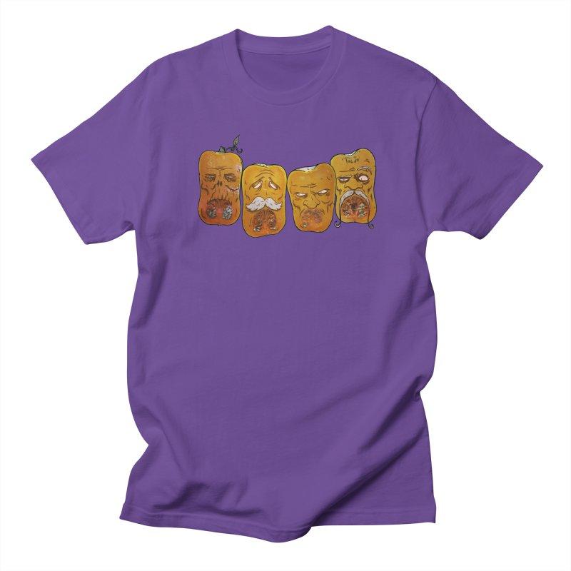 Country Pumpkins Men's Regular T-Shirt by Tail Jar's Artist Shop