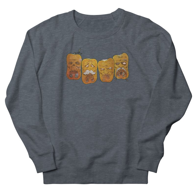 Country Pumpkins Women's French Terry Sweatshirt by Tail Jar's Artist Shop