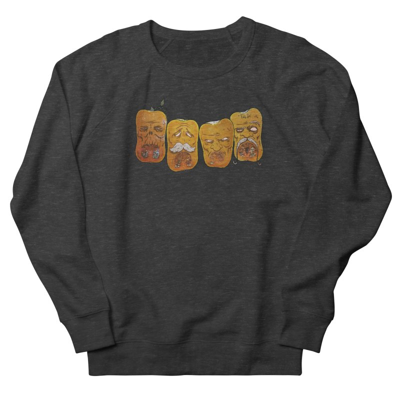 Country Pumpkins Men's French Terry Sweatshirt by Tail Jar's Artist Shop