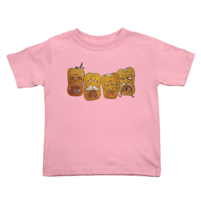 Country Pumpkins Kids Toddler T-Shirt by Tail Jar's Artist Shop
