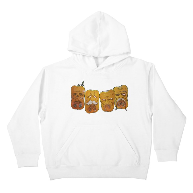 Country Pumpkins Kids Pullover Hoody by Tail Jar's Artist Shop