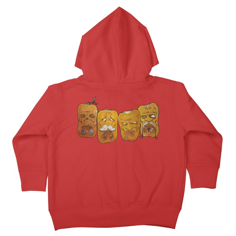 Country Pumpkins Kids Toddler Zip-Up Hoody by Tail Jar's Artist Shop