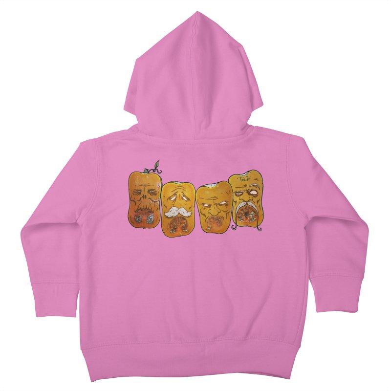 Country Pumpkins Kids Toddler Zip-Up Hoody by Tail Jar's Artist Shop