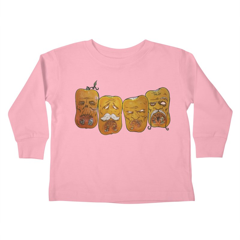 Country Pumpkins Kids Toddler Longsleeve T-Shirt by Tail Jar's Artist Shop